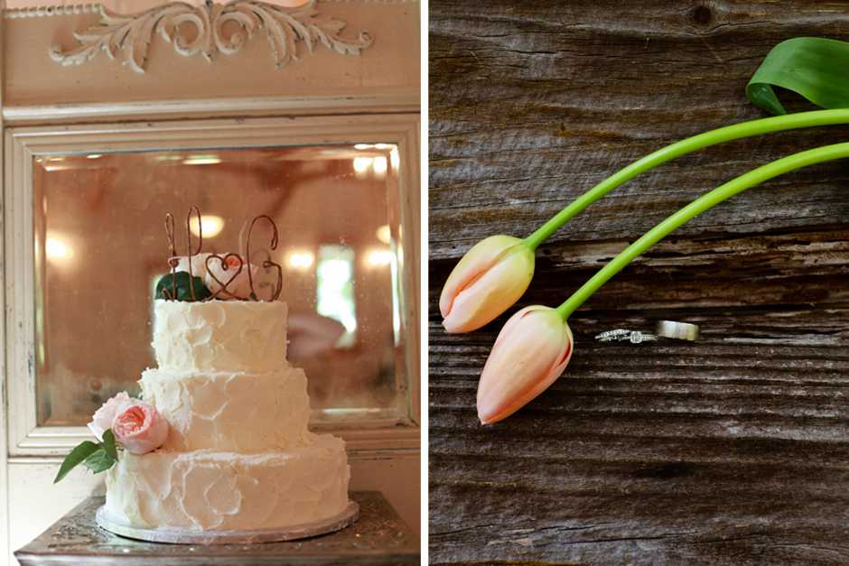 Wedding Cake Topper With Peonies - Tulips - Wedding Photography Ideas