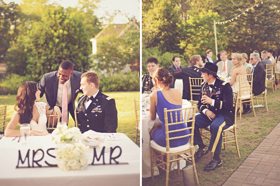 Elegant Military Wedding at Taylor-Grady House in Athens, GA