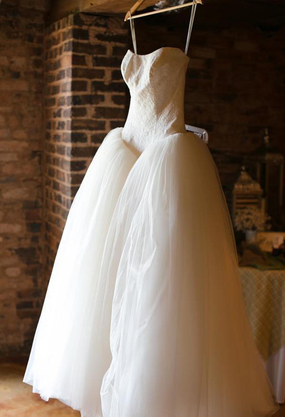 Wedding Gown Inspiration - Luxury Ball Gown - Professional Athlete Weddings - Oconee Events - Chiavari Chair Rental Athens, GA