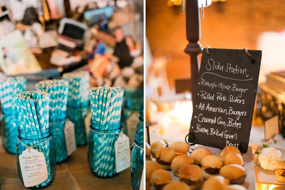 Wedding Menu Ideas - Wedding Favor Ideas - Athens GA Event Rentals
