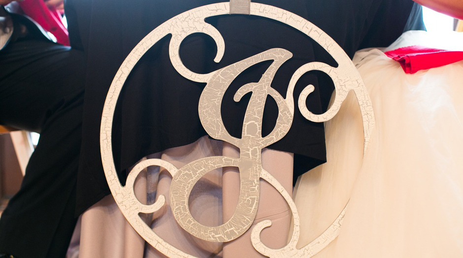 Wedding Monogramming Ideas - Table, Linen, Chair Rental for UGA Athletic Association