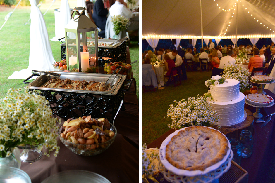 Oconee Events - Double Sided Buffet Table - Wedding + Event Rental in Athens, GA