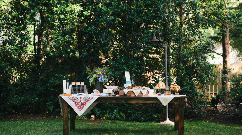 Oconee Events - Georgia Farm Table Rentals - Buffet Tables