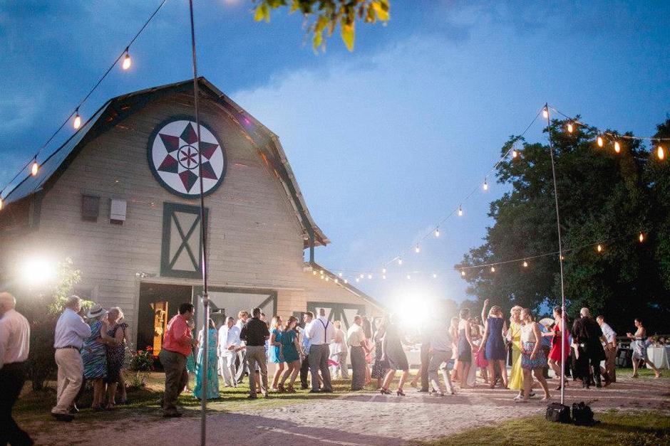 Oconee Events - String Lighting for Wedding - Atlanta Georgia Party Rentals