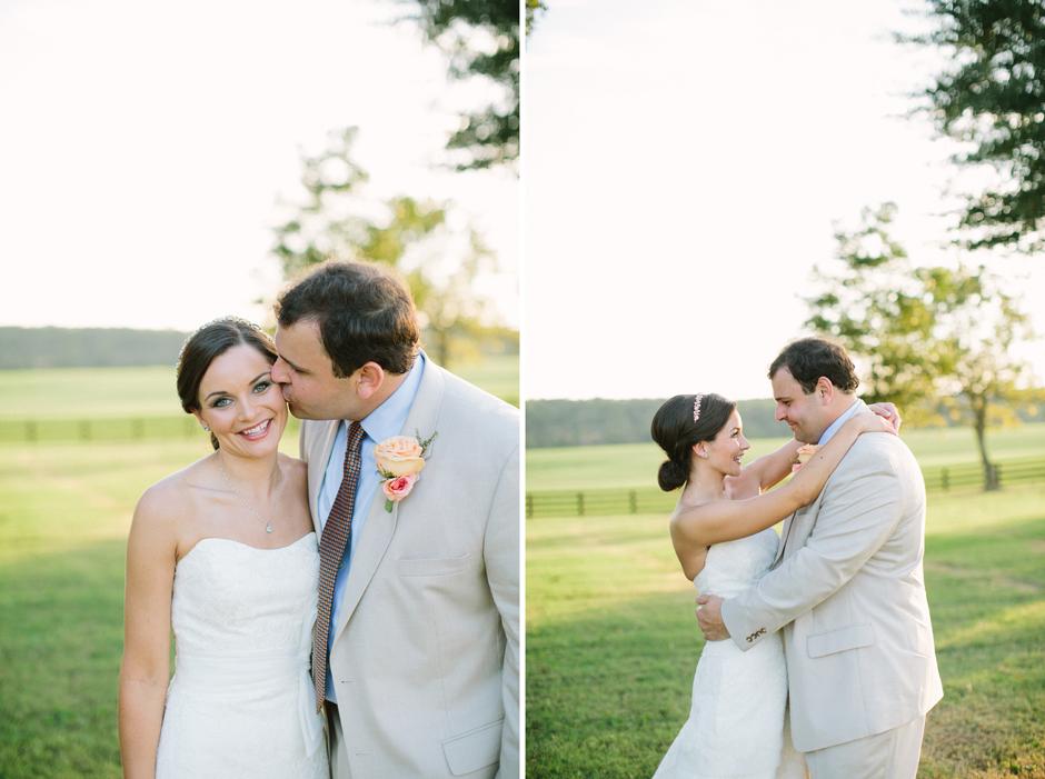 Peach, pink, and cream wedding inspiration
