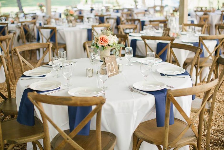 Oconee Events - Crossback Vineyard Chair Rental in Greensboro, GA - Lake Oconee Chair Rental