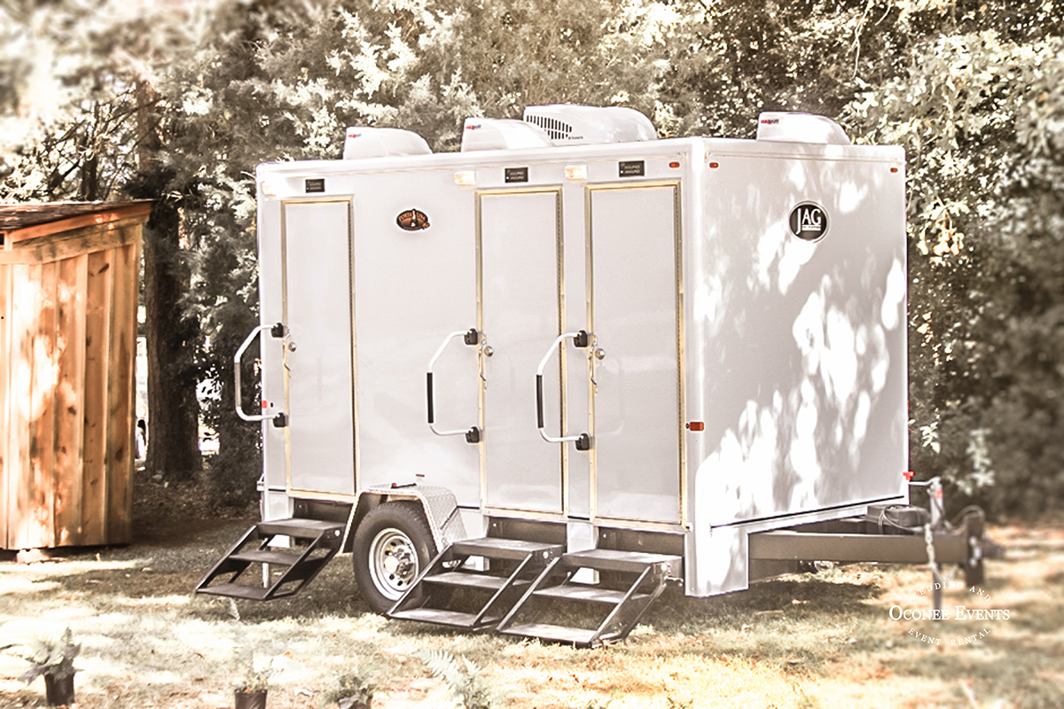 PORTABLE RESTROOM TRAILER RENTAL by Oconee Events | Athens