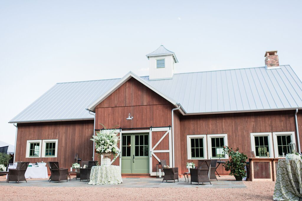 Oconee Events Barn Venue--Wedding in Athens, GA