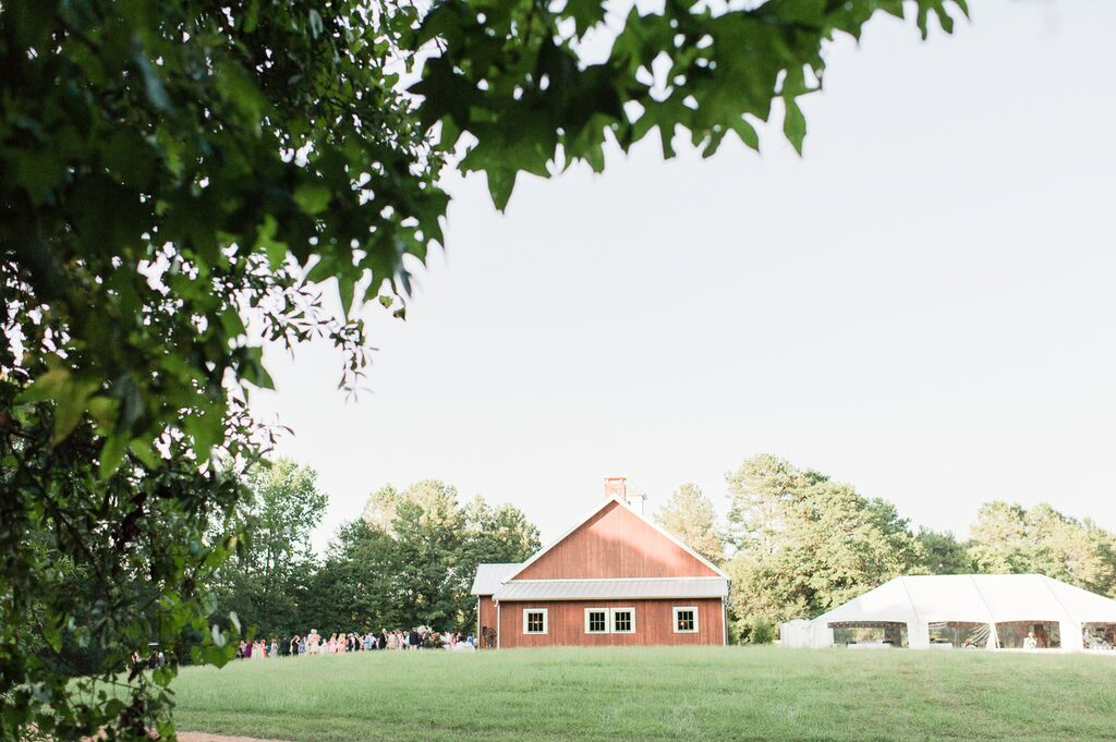 Oconee Events Elegant Barn-- Wedding in Athens, GA