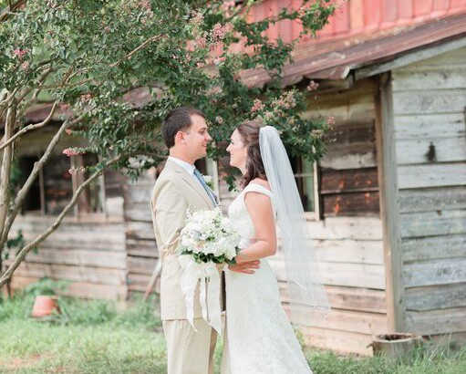Oconee Events Elegnat Farm--Wedding in Athens, GA