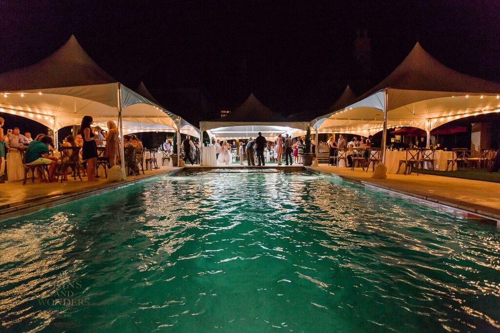 Oconee Events High Peak Tent Rentals-- Weddings Athens, GA