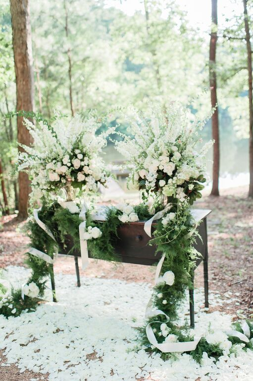 Oconee Events lake view-- Wedding in Athens, GA