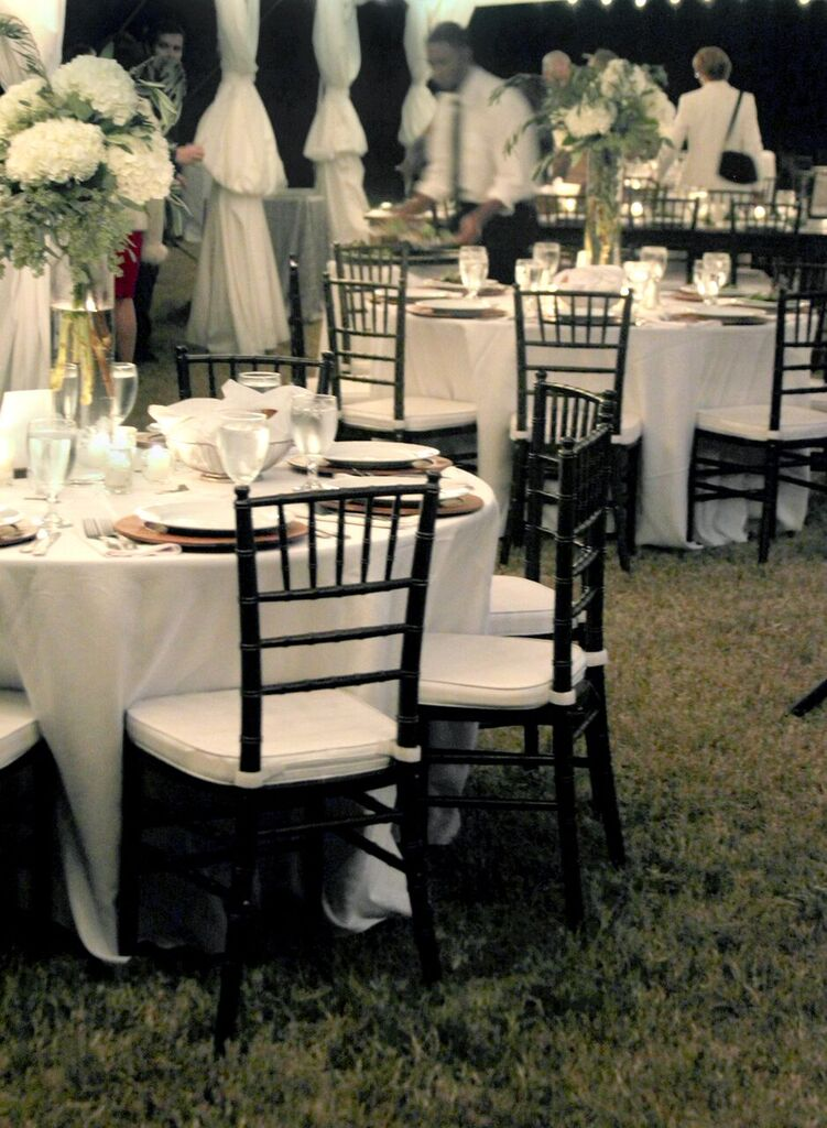Oconee Events Chiavari Chair Rentals-- Weddings in Athens, GA