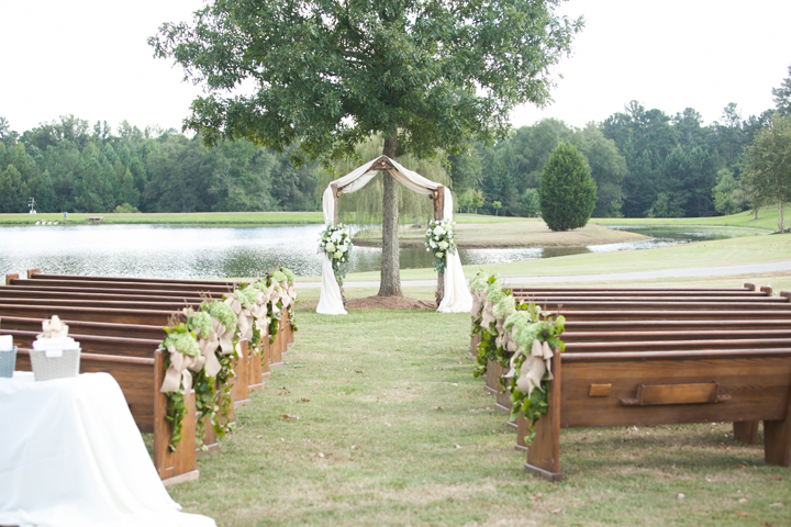 Oconee Events Pew rentals-- Wedding Athens, GA