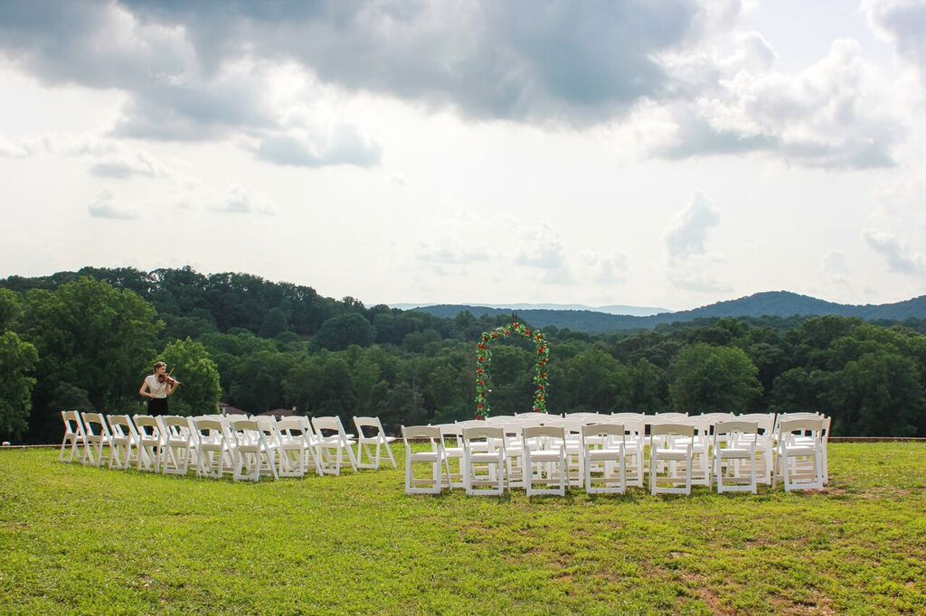 Oconee Events White Chair rentals-- Wedding Athens, GA