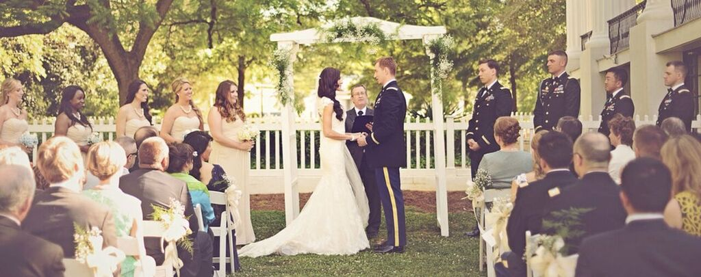 Oconee Events arbor and chair rentals-- Wedding Athens, GA