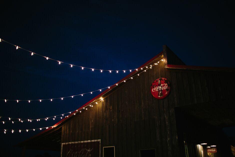 Oconee Events light Strand rentals-- Wedding Athens, GA
