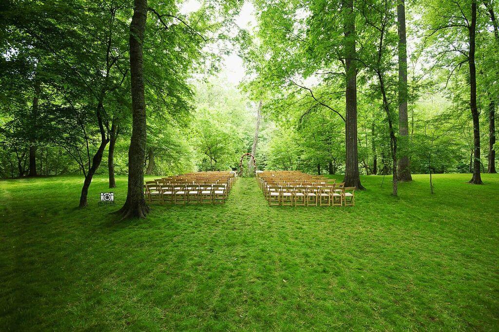 Oconee Events wooden chair rentals-- Wedding Athens, GA