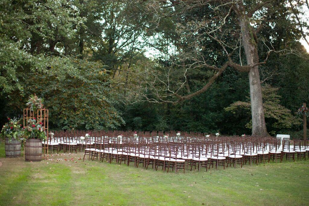 Oconee Events-- Dark chairs