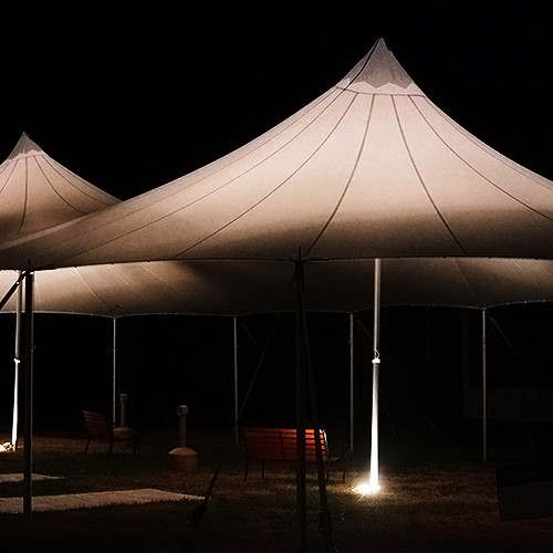 Oconee Events | Uplighting Wedding Tent Rental in Athens, GA