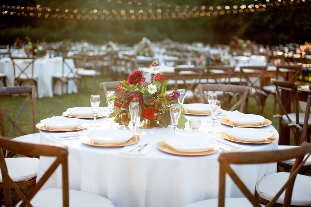 Oconee Events round table rentals-- Events:Weddings Athens, GA