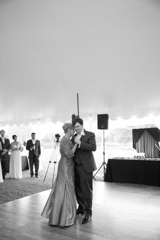 Oconee Events Dancefloor Rentals-- Wedding in Athens, GA