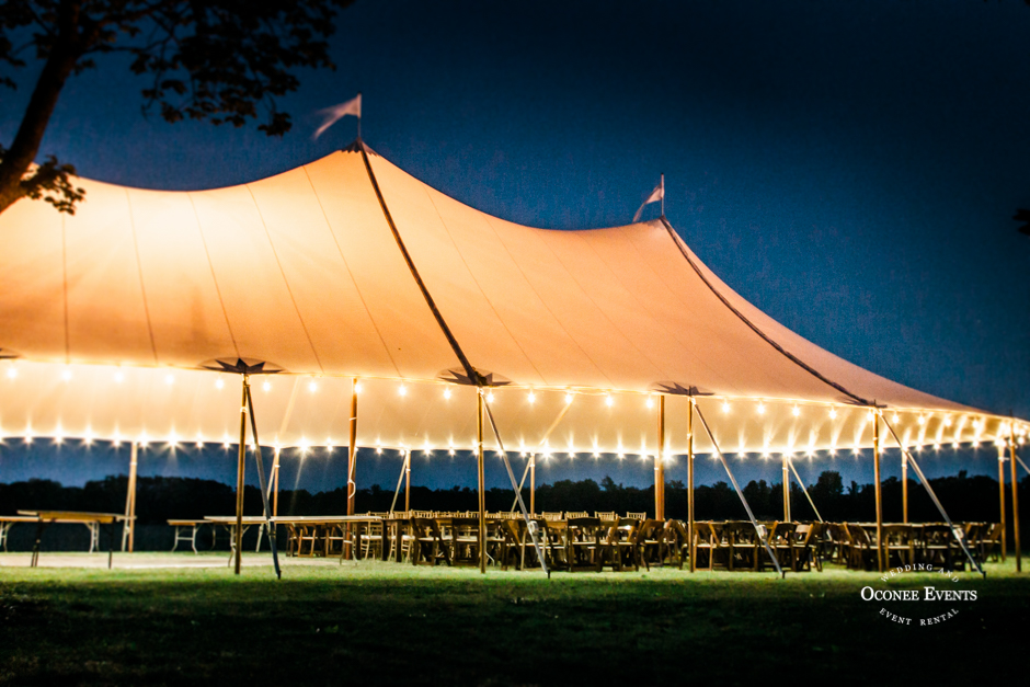 Oconee Events WEDDING TENT RENTAL Athens GEORGIA