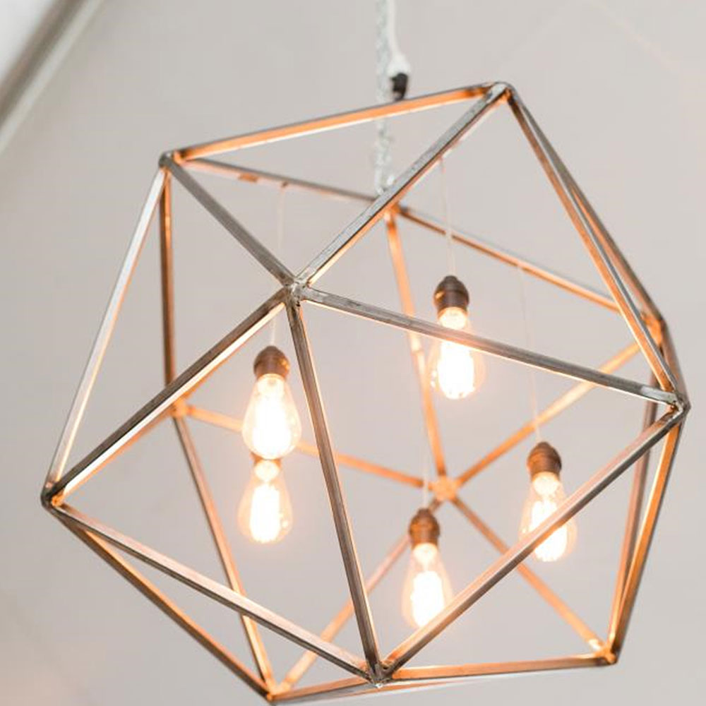Oconee Events | Modern Octagon Chandeliers