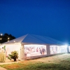 Oconee Events Frame Tent Reception-- Wedding in Athens, GA