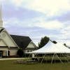 Oconee Events - Tents for Oconee Presbyterian Church Reception in Athens, GA