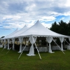 Oconee Events high peak tent rentals-- Wedding Athens, GA