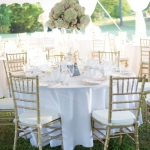 Oconee Events Round Tables+Chiavari Chairs-- Wedding in Athens, GA