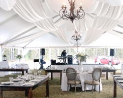 Oconee Events Drapery Tent Rentals-- Wedding Athens,GA