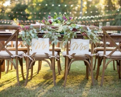 Oconee Events-- Crossback Chairs