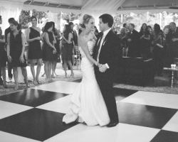 black and white dance floor rental athens ga